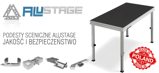Alustage - podesty Made in Poland