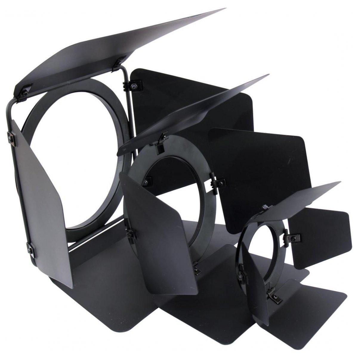 eurolite barn doors par 20 black sklep muzyczny. Black Bedroom Furniture Sets. Home Design Ideas