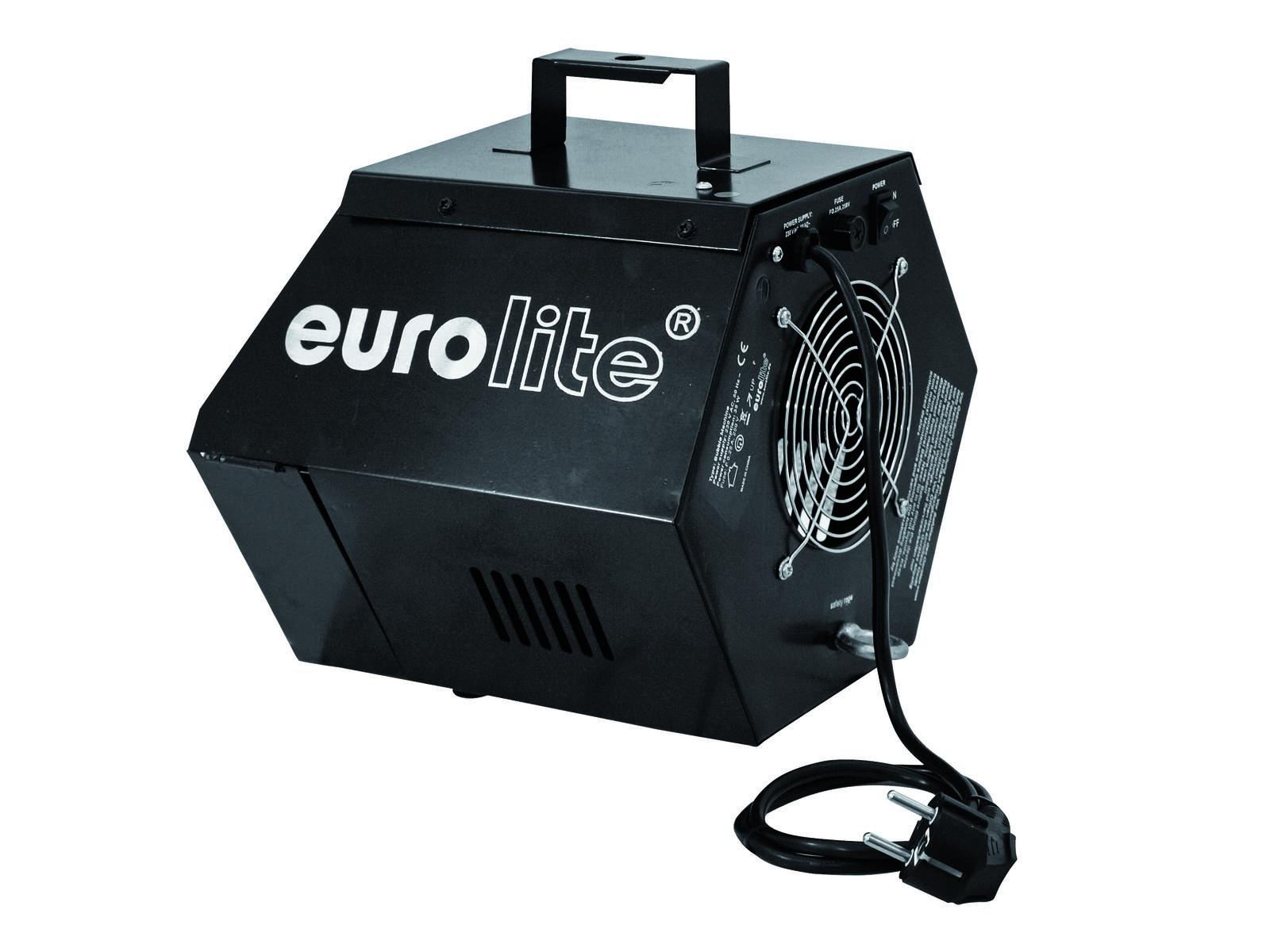 eurolite bubble machine black wytwornica baniek. Black Bedroom Furniture Sets. Home Design Ideas