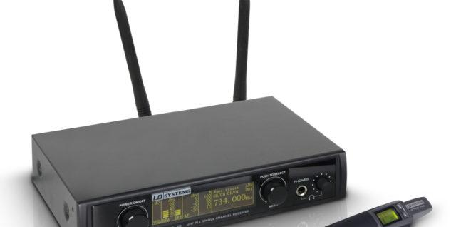 LD Systems WIN42 HHD mikrofon bezprzewodowy zestaw