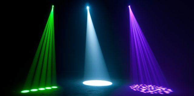 ADJ American DJ Focus Spot ONE ruchoma głowa LED Spot efekt