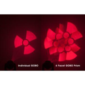 ADJ American DJ Focus Spot TWO ruchoma głowa LED Spot efekt prism