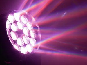 Eurolite LED TMH FE-1800 ruchoma głowa LED, efekt flower