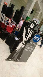 Stoisko RCF - Europejskie Targi Muzyczne 2017