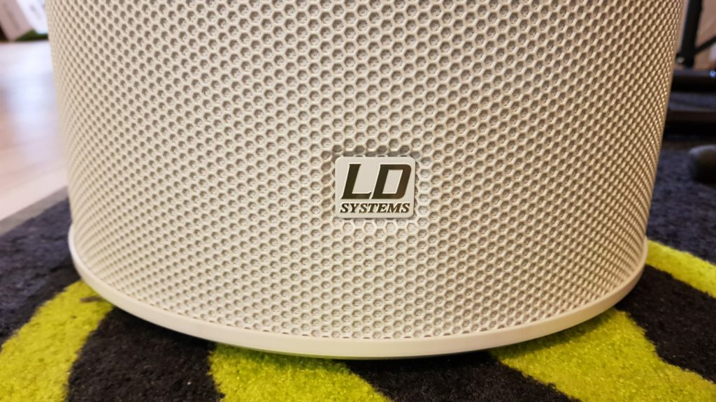 LD Systems Maui 5 GO - logo na podstawie
