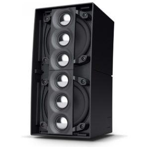 Przenośny system Line Array LD Systems CURV 500 TS - budowa podwójnego głośnika