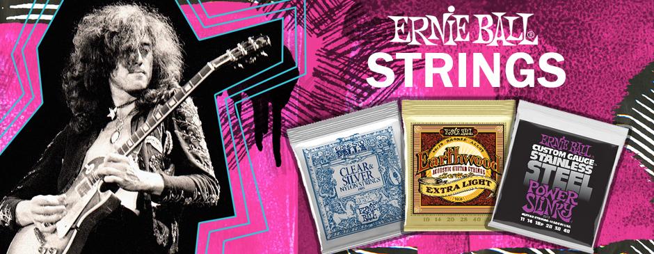Ernie Ball - Struny gitarowe