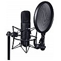 LD Systems DSM 400 - Microphone Shock Mount with Pop Filter 3/5