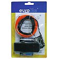 Eurolite EL wire 2mm, 2m, red 2/2
