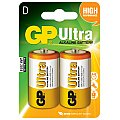 Bateria alkaliczna D (LR20) 1,5V 2 szt. GP Barreries Alkaline batteries, D, 1.5V, packed 2 /blister