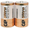 Bateria alkaliczna D (LR20) 1,5V 2 szt. GP Barreries Alkaline batteries, D, 1.5V, packed 2 /blister 2/2