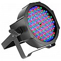 Cameo Light FLAT PAR CAN RGB 10 - 144 x 10 mm in black housing, reflektor sceniczny LED