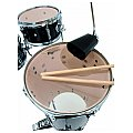 Dimavery Cocktail CDS Drum Set, black, zestaw perkusyjny 3/4