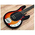 Dimavery MM-505 E-Bass, 5-string, sunburst, gitara basowa 2/4