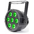 BeamZ LED FlatPAR 7 x 18W 6-1 RGBAW UV IR, reflektor PAR LED 2/8