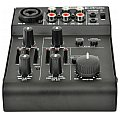 Citronic Q-MIX3 2 Channel Battery Powered Compact Mixer, mikser audio 2/4