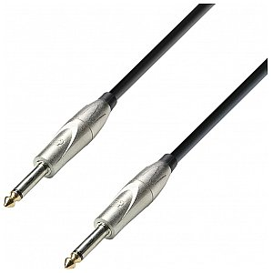 Adam Hall Cables 3 Star Series - Instrument Cable 6.3 mm Jack mono / 6.3 mm Jack mono 3 m kabel instrumentalny 1/2