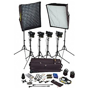 Dedolight SPS-6 Zestaw Portable Studio - 6 lamp 1/1