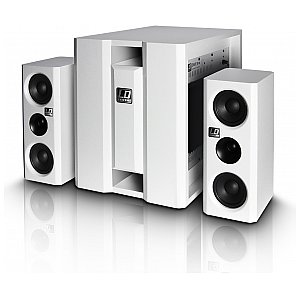 LD Systems DAVE 8 XS W - Compact active PA system white 1/5
