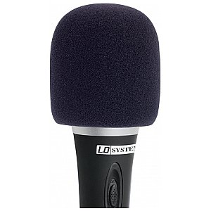 LD Systems D 913 BLK - Windscreen for Microphone black 1/1