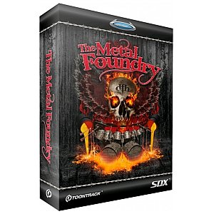 Toontrack The Metal Foundry SDX, plug-in 1/1