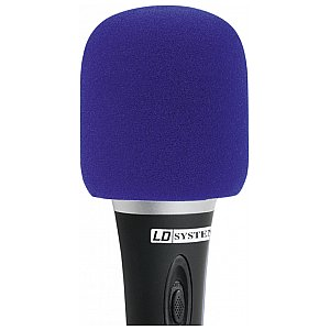 LD Systems D 913 BLU - Windscreen for Microphone blue 1/1