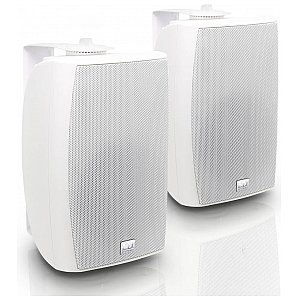 "LD Systems Contractor CWMS 52 W 100 V - 5.25"" 2-way wall mount speaker 100 V white (pair) 1/5"