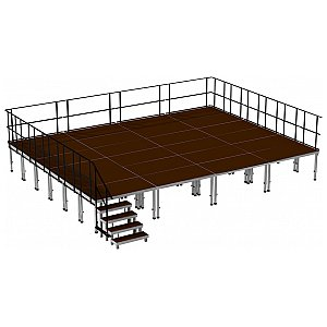 2m ERGOtrend OUT 8x6 - Stage Platform Set Outdoor 8 x 6 m, podest sceniczny 1/1