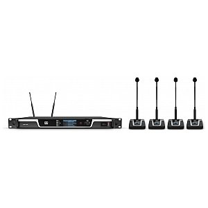 LD Systems U505 CS 4 - 4-Channel Wireless Conference System, odbiornik do systemu konferencyjnego 1/5