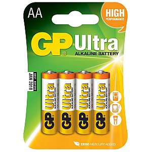 Bateria alkaliczna AA 1,5V R6 4 szt. GP Barreries Alkaline batteries, AA, 1.5V, packed 4 /blister 1/2