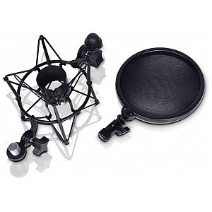 LD Systems DSM 400 - Microphone Shock Mount with Pop Filter 1/5