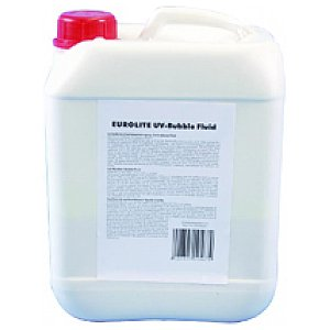 Eurolite UV BUBBLE FLUID RED 5l, koncentrat do baniek 1/1