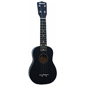 Dimavery Uk-200 Ukulele, soprano, black 1/1