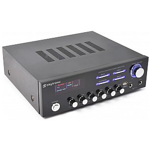 Skytronic AV-120 Stereo Karaoke Amplifier MP3 1/3