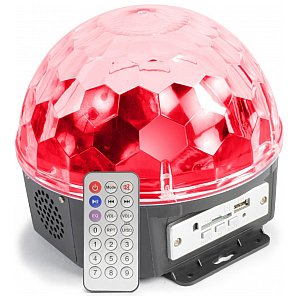 BeamZ Magic Jelly DJ Ball Sound 6x1W Player, efekt dyskotekowy LED 1/5