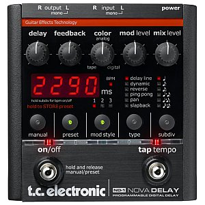 TC Electronic ND-1 Nova Delay, efekt gitarowy 1/1