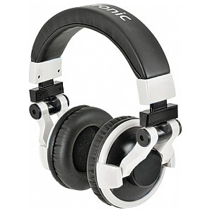 Citronic HP750PRO Superbass Monitor Headphone - White, słuchawki DJ 1/2