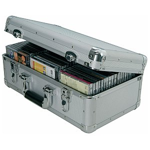 Citronic Walizka DJ Flight Case Alu na 60 płyt CD, Aluminium CD flight case, 60 CDs 1/1