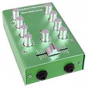 Omnitronic GNOME-202 Mini mixer green 1/1