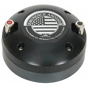 "Eminence ASD 1001 - 1"" high-frequency Driver 50 W 8 Ohm, głośnik audio 1/2"
