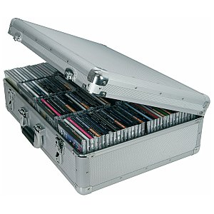 Citronic Aluminium CD flight case, 120 CDs 1/1