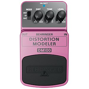 Behringer DISTORTION MODELER DM100  efekt gitarowy 1/1