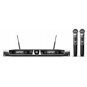 LD Systems U505 HHD2 - Wireless Microphone System with 2 x Dynamic Handheld Microphone 1/5