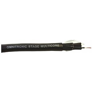 Omnitronic Multicore cable 24 pair balanced 25m 1/1