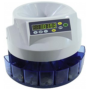Eurolite CS-100 Coin counter/sorter 1/3