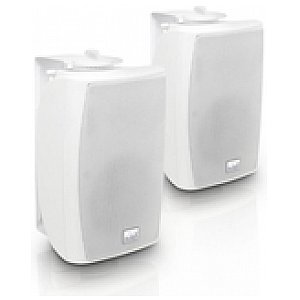 "LD Systems Contractor CWMS 42 W 100 V - 4"" 2-way wall mount speaker 100 V white (pair) 1/3"