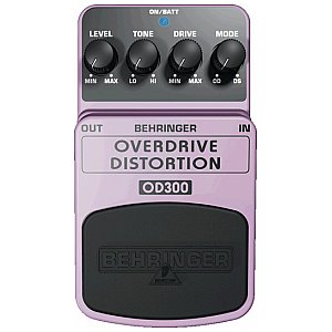 Behringer OVERDRIVE/DISTORTION OD300 efekt gitarowy 1/1