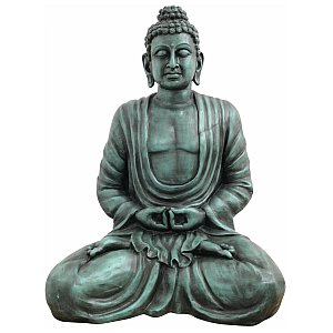 Europalms Buddha, antique-black, 120cm, Budda 1/2