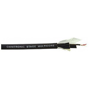 Omnitronic Multicore cable, 8 pair balanced, 100m 1/1