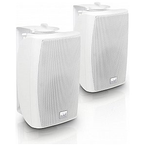 "LD Systems Contractor CWMS 42 W - 4"" 2-way wall mount speaker white (pair) 1/5"
